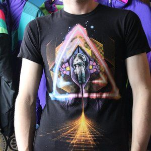 Space Astronaut Graphic T-Shirt
